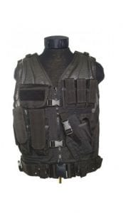 Gilet tactique airsoft holster